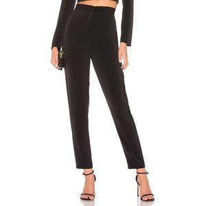 NBD x Naven Zara High Rise Zip Hook Bar Slim Pant